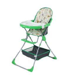 Стульчик для кормления Selby 252, цвет: совы/зеленый