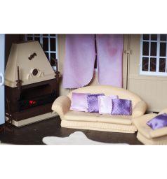 Набор мебели для кукол Огонек Коллекция для каминной комнаты