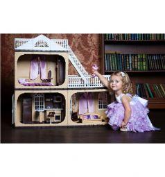 Дом для кукол Огонек Коттедж Коллекция 90 см