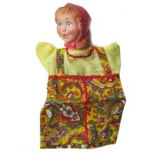 Кукла-перчатка Русский Стиль Внучка