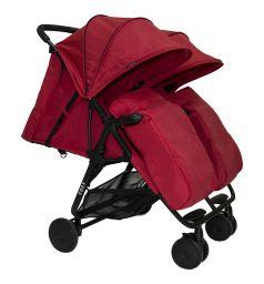 Прогулочная коляска Cozy Smart, цвет: red melange