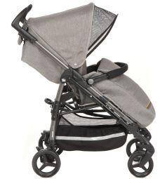 Прогулочная коляска Peg-Perego Si Completo с шасси Dark Grey, цвет: серо-бежевый