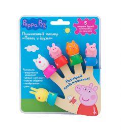 Театр пальчиковый Peppa Pig 5 фигурок