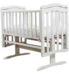 Кровать-люлька Гандылян Лили, цвет: белый