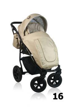 Прогулочная коляска Prampol Panda, цвет: бежевый