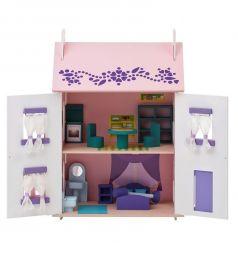Дом для кукол Paremo Анастасия с мебелью 65 см