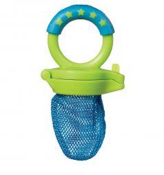 Ниблер Munchkin для прикорма пластик, цвет: зеленый/голубой