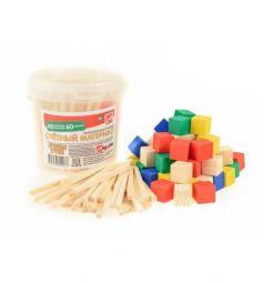Развивающий набор Русские деревянные игрушки Счетный материал