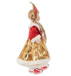 Кукла Новогодняя сказка Снегурочка красная 43 см