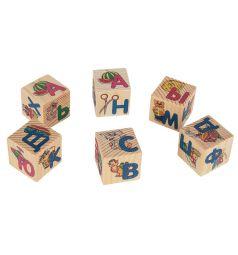 Набор кубиков Русские деревянные игрушки Азбука