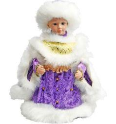 Кукла Новогодняя сказка Снегурочка в фиолетовом