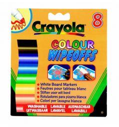 Фломастеры Crayola 8 Цветов радуги для доски
