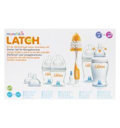 Набор бутылочек Munchkin для кормления полипропилен с рождения, 240 мл-120 мл