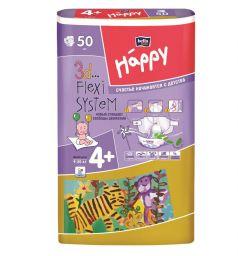 Подгузники Bella Baby Happy Maxi Plus (9-20 кг) 50 шт.