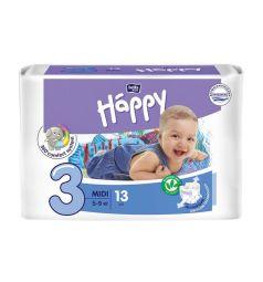 Подгузники Bella Baby Happy Midi (5-9 кг) 13 шт.