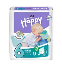 Подгузники Bella Baby Happy Junior Extra (от 16 кг) 18 шт.