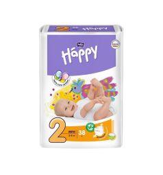 Подгузники Bella Baby Happy Mini (3-6 кг) 38 шт.