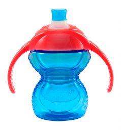 Поильник-чашка Munchkin Click Lock С ручками, от 6 мес, цвет: голубой