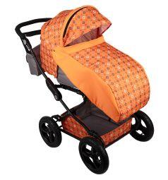 Коляска 2 в 1 BabyHit Evenly Plus, цвет: оранжевый