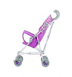 Коляска-трость BabyHit Weeny, цвет: белый/розовый