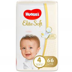 Подгузники Huggies Elite Soft (8-14 кг) 66 шт.