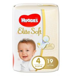 Подгузники Huggies Elite Soft (8-14 кг) 19 шт.