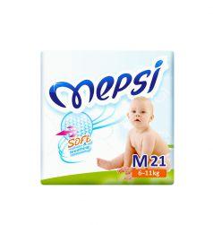 Подгузники Mepsi Sofl (6-11кг) 21 шт.