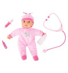 Кукла-пупс Bayer на батарейках 38 см