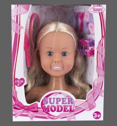 Кукла Bayer Модель-торс для создания причесок с аксессуарами 19 см