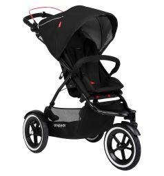 Прогулочная коляска Phil and Teds Sport, цвет: Black