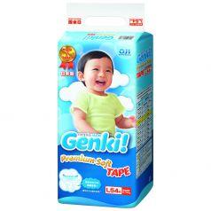 Подгузники Genki (9-14 кг) 54 шт.