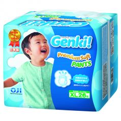 Подгузники-трусики Genki (12-17 кг) 26 шт.