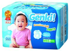 Подгузники-трусики Genki (7-10 кг) 32 шт.