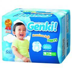 Подгузники-трусики Genki (9-14 кг) 30 шт.