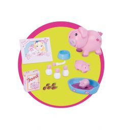 Кукла Famosa Милые питомцы Нэнси блондинка в розовой пижаме