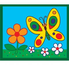 Картинка из песка Дрофа Бабочка