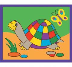 Картинка из песка Дрофа Черепаха