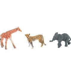Набор диких животных Shantou Gepai Jungle animal 3 шт