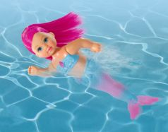 Кукла Evi русалка с двигающимся хвостом и морскими животнами