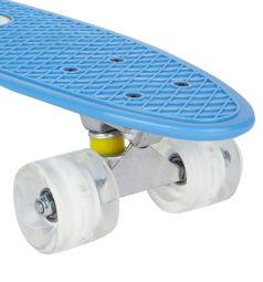 Скейтборд Leader Kids JC-001, цвет: голубой