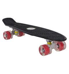 Скейтборд Leader Kids JC-001, цвет: черный