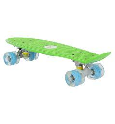 Скейтборд Leader Kids JC-001, цвет: зеленый