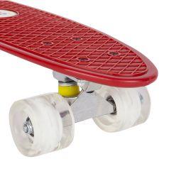 Скейтборд Leader Kids JC-001, цвет: красный