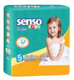 Подгузники Senso Baby Ecoline (11-25 кг) 32 шт.