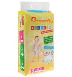 Трусики-подгузники Greenty (12-18 кг) 44 шт.