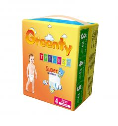 Трусики-подгузники Greenty (9-14 кг) 22 шт.