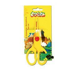 Ножницы безопасные длина: 135 мм материал ручек: пластик Каляка-Маляка Зиг-заг