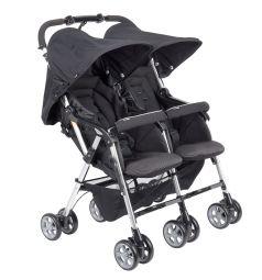 Прогулочная коляска Combi Spazio Duo, цвет: Black