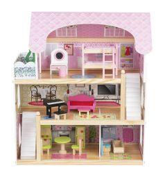 Дом для кукол Edufun с мебелью 70 см