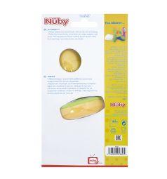 Ниблер Nuby полипропилен, цвет: зеленый